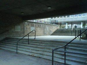 Napier University stairs