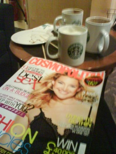 Cosmopolitan på Starbucks